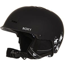 Шлем для сноуборда женский Roxy Avery True Black love Lett3