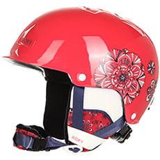 Шлем для сноуборда детский Roxy Happyland Bright White snowfla2