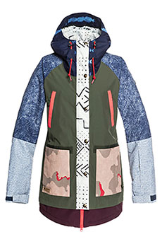 Куртка утепленная женская DC Riji Se Jkt Multi Repurpose Ri3