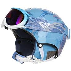 Шлем для сноуборда женский Roxy Misty Girl Pck Powder Blue swell Fl3