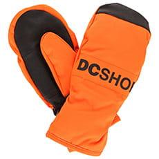 Варежки сноубордические детские DC Franchise Yth Red Orange3