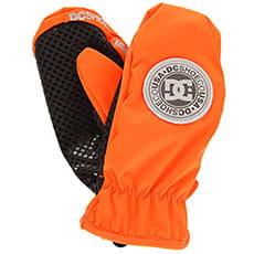 Варежки сноубордические DC Shelter Mitt Red Orange