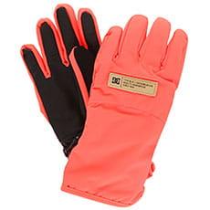 Перчатки сноубордические женские DC Franchise Women Fiery Coral