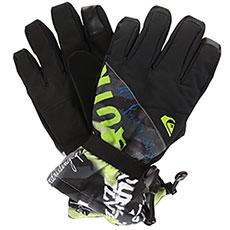 Перчатки сноубордические QUIKSILVER Mission Glove Black construct2