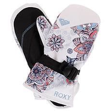 Варежки сноубордические детские Roxy Rx Jett Gir Mit Bright White_snowfla2