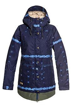 Куртка утепленная DC Riji Dark Blue Mud Cloth3