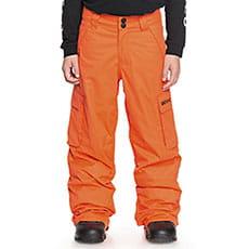 Штаны сноубордические детские DC Banshee Red Orange1