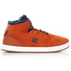 Кеды зимние детские DC Shoes Crisis High Wnt Brown/Blue1