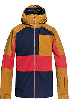 Куртка утепленная QUIKSILVER Sycamore Dress Blues3