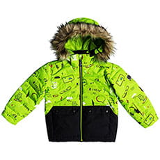 Куртка детская QUIKSILVER Edgy Kids Jk K Snjt Lime Green_moam Tatt