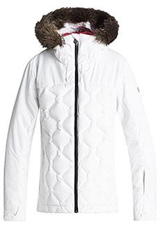 Куртка утепленная женская Roxy Breeze Bright White3