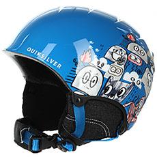 Шлем для сноуборда детский QUIKSILVER The Game Daphne Blue animal P1