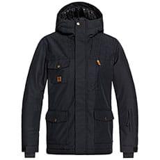 Куртка сноубордическая детская QUIKSILVER Raft Black1