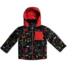 Куртка сноубордическая детская QUIKSILVER Little Miss Black Maoam Tatt2