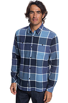 Рубашка в клетку QUIKSILVER Coldbrflannelsh Parisian Night2