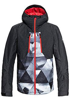 Куртка утепленная QUIKSILVER Mission Plus Grey Stretch Univers3