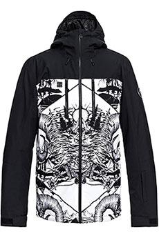 Куртка утепленная QUIKSILVER Mission White Snow Mistery1