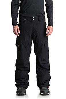Штаны сноубордические QUIKSILVER Porter Black1