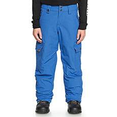 Штаны сноубордические детские QUIKSILVER Porter Daphne Blue1