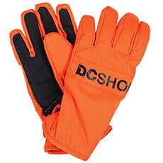 Перчатки сноубордические детские DC Franchise Yth Red Orange3
