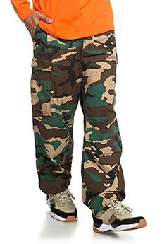 Штаны широкие DC Infield Pants Camo1