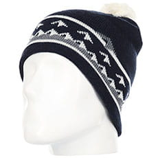 Шапка QUIKSILVER Barrow Beanie Dress Blues2