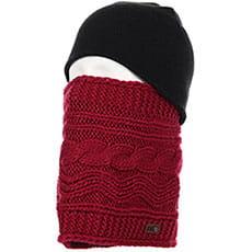Шарф труба женский Roxy Winter Collar Beet Red1