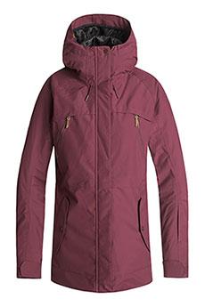 Куртка сноубордическая женская Roxy Tribe Beet Red