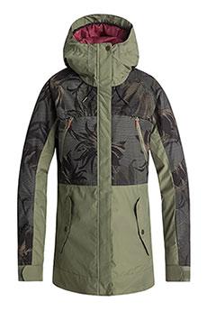 Куртка сноубордическая женская Roxy Tribe Four Leaf Clover_swe