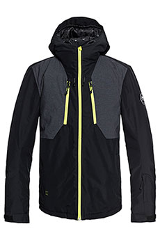 Куртка утепленная QUIKSILVER Mission Plus Black1