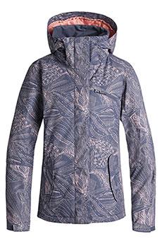 Куртка утепленная женская Roxy Jetty Crown Blue_queen Mot1