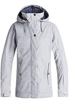 Куртка утепленная женская Roxy Billie Warm Heather Grey2