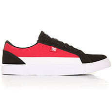 Кеды низкие DC Lynnfield Black/Red/White2
