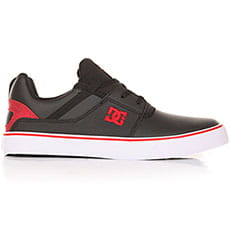 Кеды низкие DC Heathrow Vulc Black/Athletic Red/W2