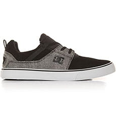 Кеды низкие DC Heathrow V Se Black/Grey3