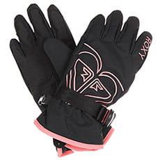 Перчатки сноубордические женские Roxy Poppy Girl Glov True Black_1