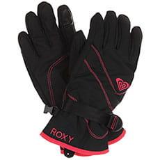 Перчатки сноубордические женские Roxy Jetty Soli Glov True Black