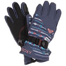Перчатки сноубордические женские Roxy Rx Jett Gir Glo Crown Blue indie Str