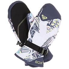 Варежки сноубордические женские Roxy Jetty Mitt Bright White freespa_1
