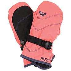 Варежки сноубордические детские Roxy Jett Sol Gi Shell Pink_1