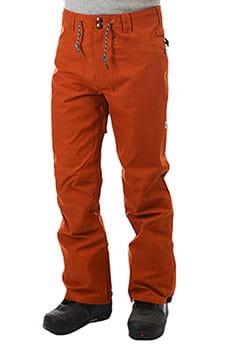 Штаны сноубордические DC Relay Waxed Leather Brоwn_1