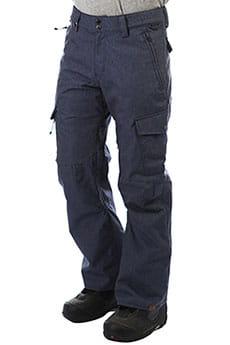 Штаны сноубордические QUIKSILVER Porter Denim Dress Blues_1