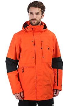 Куртка сноубордическая DC Command Red Orange_1