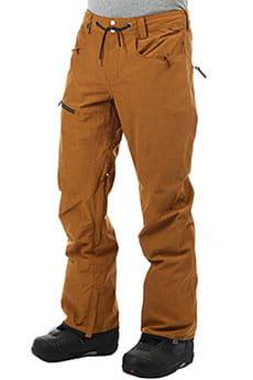 Штаны сноубордические QUIKSILVER Forest Oak Golden Brown_1