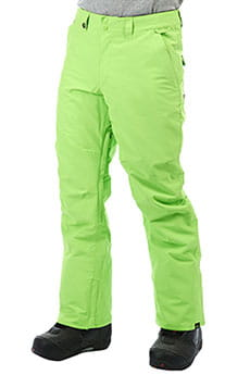 Штаны сноубордические QUIKSILVER Estate Lime Green_1