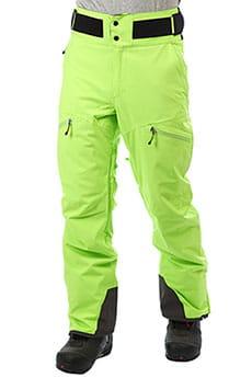 Штаны сноубордические QUIKSILVER Orbitor Lime Green_1