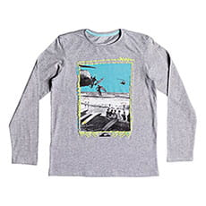 Лонгслив детский QUIKSILVER Ddaylsteeyth Athletic Heather_1