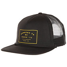Бейсболка с сеткой Billabong Upgrade Trucker Black/Gold