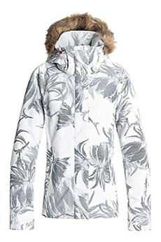 Куртка сноубордическая женская Roxy Jet Ski Bright White_swell