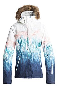 Куртка сноубордическая женская Roxy Jet Ski Se Bright White_snowyva